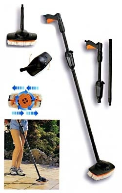 Patio Paving Double Action Washing Brush Details And