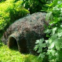 Unique Hedgehog Habitat Erconomic Safe Sturdy Waterproof Rustproofed Steel Frame